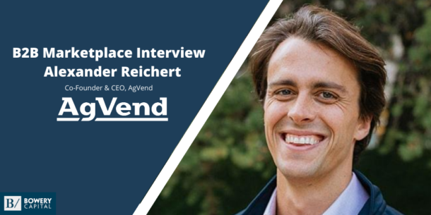 From The Front Lines: Alexander Reichert (AgVend)