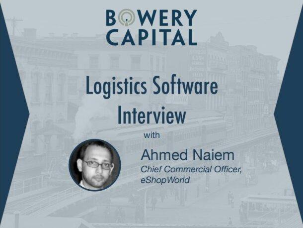Logistics Software Deep Dive – Logistics Software Interview With Ahmed Naiem