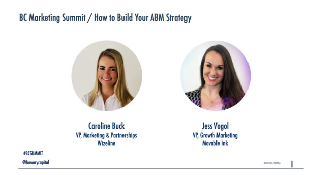 BC Marketing Summit 2020: How to Build Your ABM Strategy