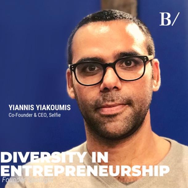 Diversity In Entrepreneurship: Yiannis Yiakoumis (Selfie)