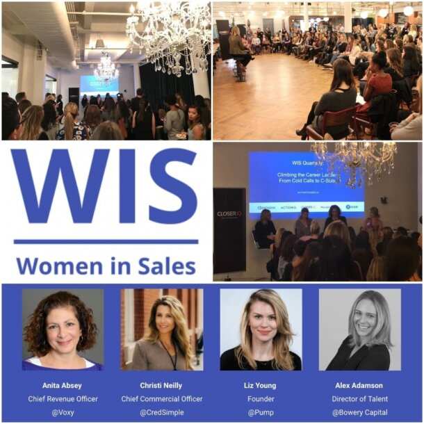 Notes From The Women In Sales Event On Climbing The Career Ladder