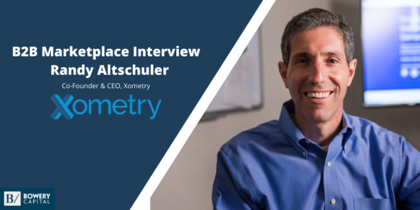 From The Front Lines: Randy Altschuler (Xometry)
